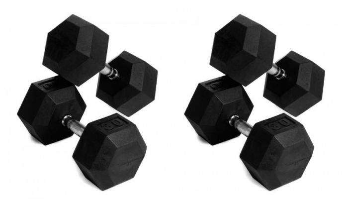 HEX Dumbbell Set 22,5 - 30 kg