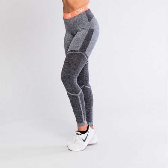 ICIW Seamless tights v2 - Grey / Peach / White