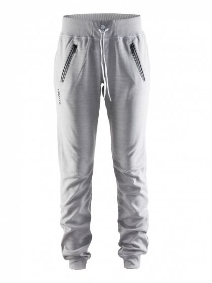 In The Zone Sweatpant W - Grey Melange
