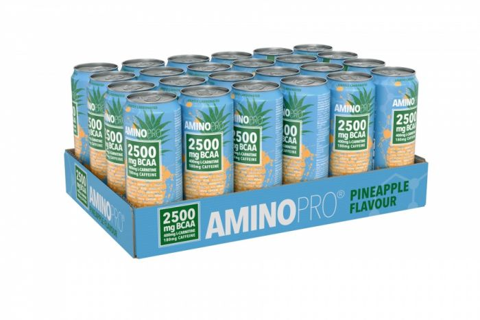 AminoPro Bcaa 24 x 330 ml Pineapple
