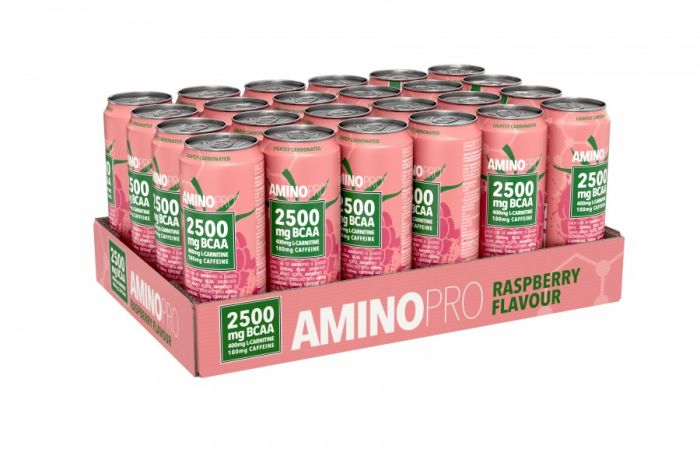 AminoPro 24 x 330 ml Raspberry