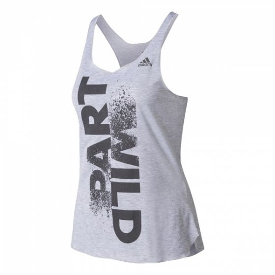 Wild Prime Tank Top - Medium Grey Heather