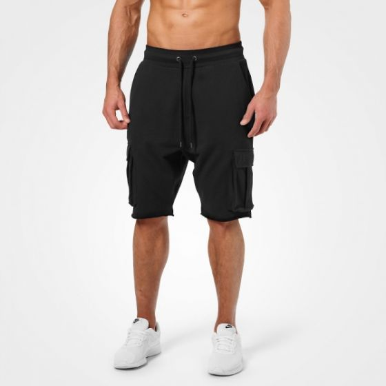 Bronx Cargo Shorts - Washed Black