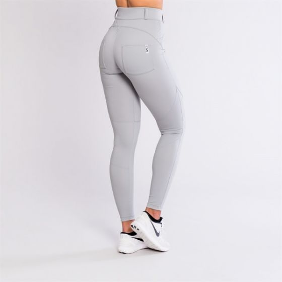 ICIW Casual Pants High Waist - Grey