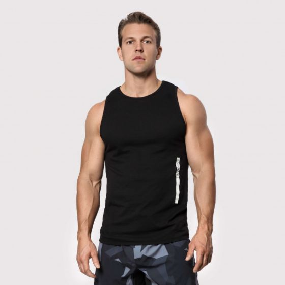 Tri-Blend Tank Top - Black