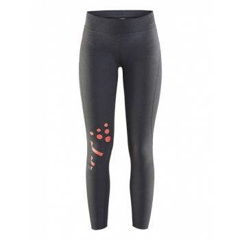 Delta 2.0 Long Tights - Dark Grey Melange