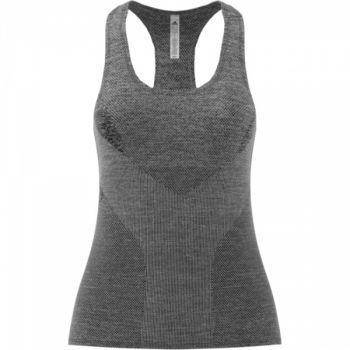 Jacquard Tank - Black/Grey