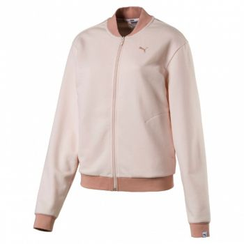 Athletic Bomber Jacket - Pearl