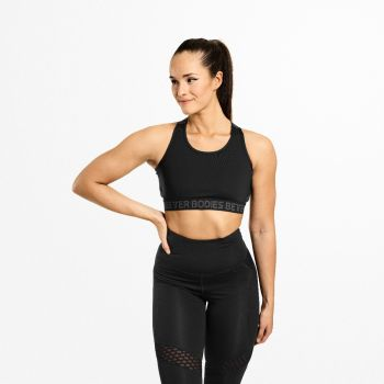 Waverly Elastic Bra - Sort