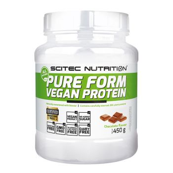 Pure Form Vegan Protein 450g, Chocolate - SN