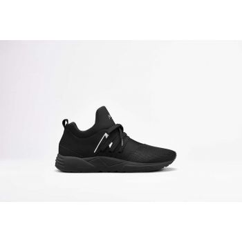 Raven Mesh S-E15 All Black White-MEN
