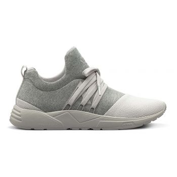 Raven Mesh S-E15 Grey Melange White - Men