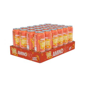 AminoPro Bcaa 330ml x 24stk, Candy Peach