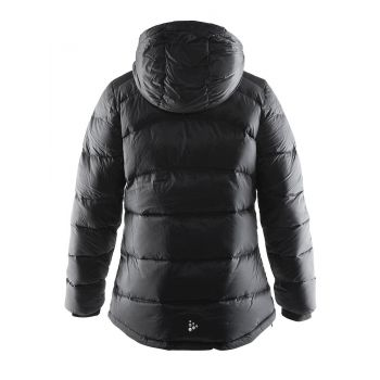 Down Jacket W - Sort