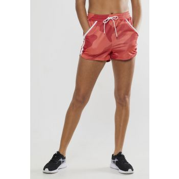 District High Waist Shorts - Orange