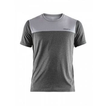 Eaze SS Tee Two Herre - Grey Melange