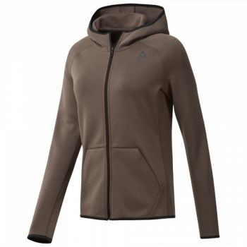 Quik Cotton Full-Zip Hoodie - Smoky Taupe