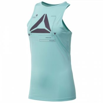 ActivChill Graphic Tank - Turquoise