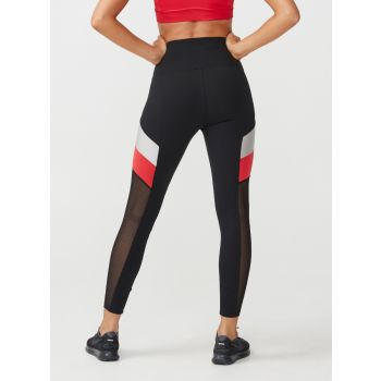 Uplift Block Tights - Rød