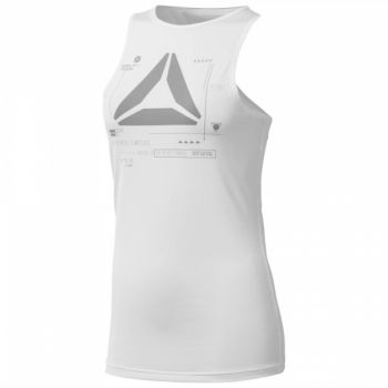 ActivChill Graphic Tank - White