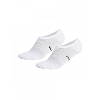 2-Pack Invisible Sock - Hvit