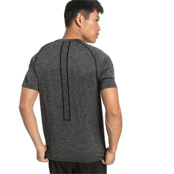 Energy Seamless Tee - Sort