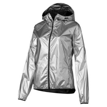 Last Lap Metallic Jacket - Sølv