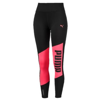 Logo 7/8 Graphic Tights Dame - Rosa