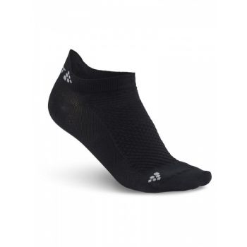 Cool Shaftless 2-pack Sock - Black