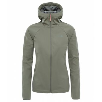 Inlux Softshell Hood - Deep Green