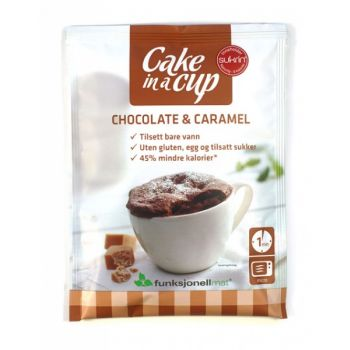 Cake In a Cup Chocolate & Caramel