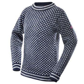 Nordsjø Sweater Crew Neck - Draj Blue / Grey
