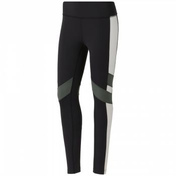 Lux Color Block Tight - Black / White