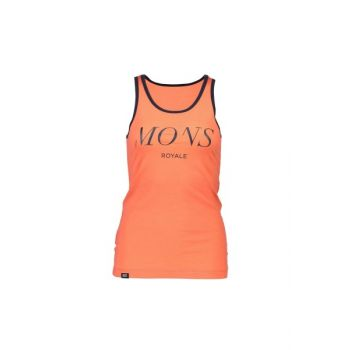 Classic Racer Back Tank Serif - Coral