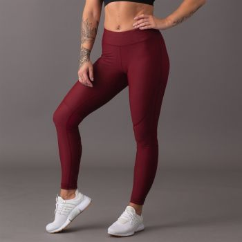 ICIW Shape Tights - Burgundy