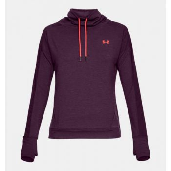 Featherweight Fleece Funnel Neck - Merlot