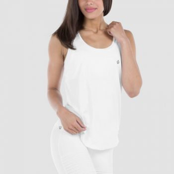 Regalia Loose Tank - White