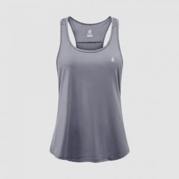 Regalia Loose Tank - Silver Grey