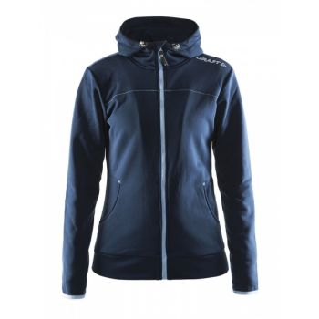 Leisure Full Zip Hood Dame - Dark Navy