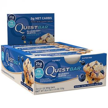 Questbar Blueberry Muffin 12x60g