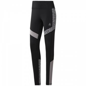 Running Tights AOP - Black