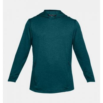Tech Terry Popover Hoodie - Tourmaline Teal