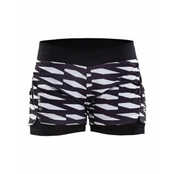 Breakaway 2-in-1 Shorts - Trellis Black