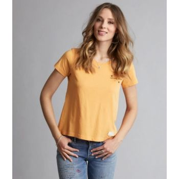 Graphictude t-shirt - Warm Yellow