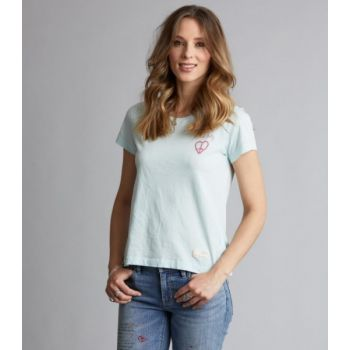 Graphictude t-shirt - Pastel Blue