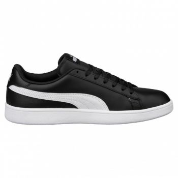 Puma Smash V2 Dame L - Black/White