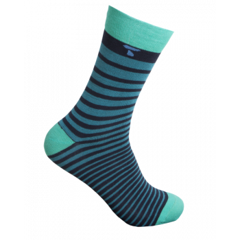 Party Socks - Green Stripe