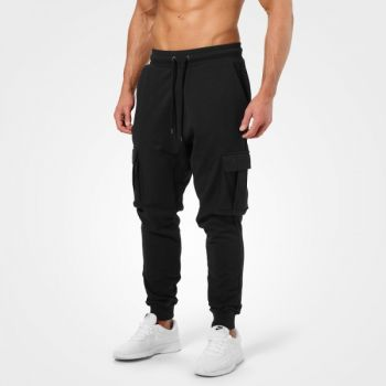 Bronx Cargo Sweatpant - Washed Black