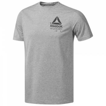 Speedwick Graphic Tee - Medium Grey Heather