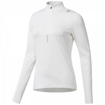 Running Quarter-Zip - White